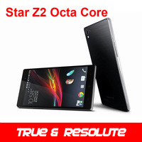 "Gift Case Star Z2 MTK6592 Octa Core Android 4.2 1.7Ghz WCDMA Cell Phone 5.0"" 1280*720 IPS RAM 2GB ROM 8GB 13.0MP OTG Dual Sim"