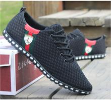 Vendita! Nuovo uomini scarpe da ginnastica estate zapato casual traspirante scarpe da ginnastica mesh sport scarpe da corsa per gli uomini più taglia 39-46(China (Mainland))