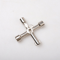 Free Shipping , Universal Cross Triangle KEY for Train Electrical Elevator Cabinet Valve Alloy Triangle/Square