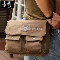 New 2014 Eshow Brand canvas mens messenger bags vintage crossbody bag men travel bags BFK010411