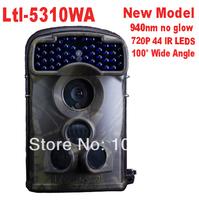 Ltl Acorn 5310WA 940nm 100 Degree Wide Angle Scouting Camera HD 720P Hunting Game Camera 44 IR LEDs Free shipping
