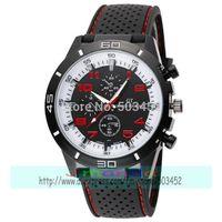 105pcs/lot Hot Sale Racing Watch Charming Sport Rubber GT Watch Fashion Men Black Quartz Wristwatch Silicone Watch13 Colors