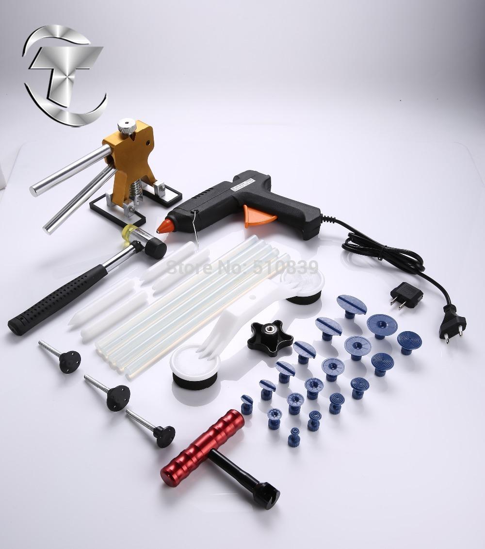 35 pcs Dent Lifter - Glue Puller - PDR Tools - Paintless Dent Repair Hail Removal can repair big dent 100V-240V/100W glue g