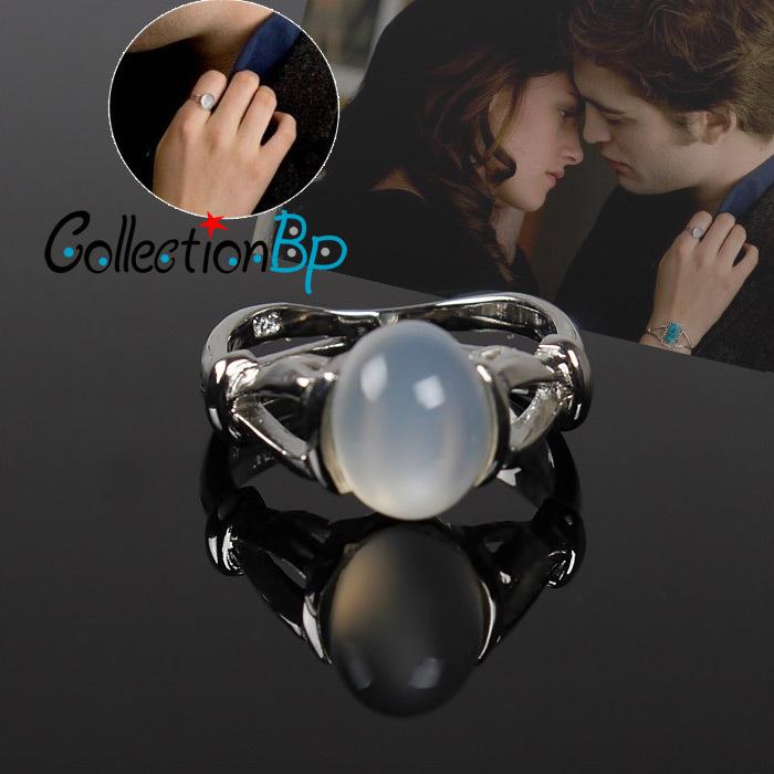 Discounts! Brand New Moonstone same as Bella's Finger Ring Belomorite Phengite Twilight Jewelry Rings Valentine's Day &Girl Gift(China (Mainland))