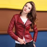 Jaquetas De Couro Jaqueta Couro Feminino Autumn Genuine Leather Jackets Ol Slim Zipper Leather Jacket Women Plus Size M-5XL