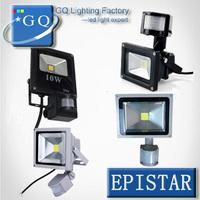 8pc 10W 20w 30w 50w 70w 85-265V PIR Motion Sensor LED Flood Light  Induction body Sense outdoor lamp led projector light