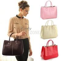 Big Discount!2014 New Fashion Faux Leather Women's Designers Brand Handbags Tote leather handbags Shoulder Bags Handbag B16 3101