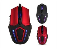 Hot Sale !2400 DPI 6D buttons optical wired gaming mouse USB wired Professional game mice for laptops desktops Free Shipping