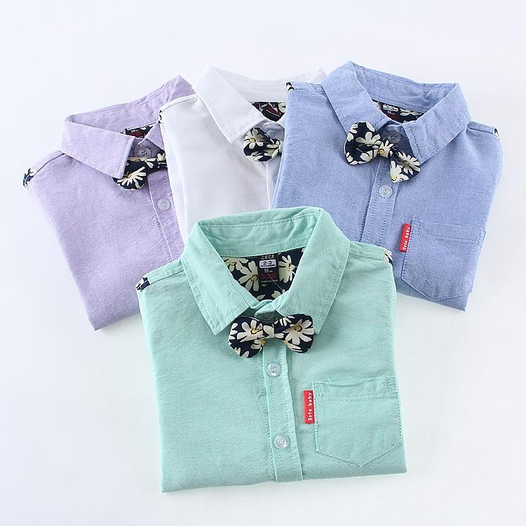 Hot sale,New 2014 Spring/Autumn Brand Fashion Children boys cotton Shirts kids boys Long-sleeved shirts(China (Mainland))
