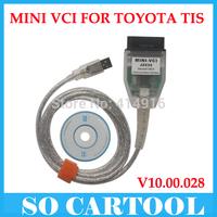 2015 MINI VCI FOR TOYOTA TIS Techstream V9.30.002 Single Cable MINI VCI J2534 OBD2 diagnostic tool