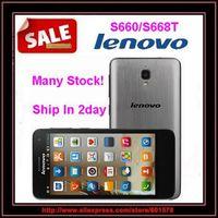 "Original Lenovo S660 S668T MTK6582 Quad Core Mobie Phone 4.7"" IPS Screen 1GB RAM 8GB ROM 8.0MP Camera Android 4.2 Dual SIM WCDMA"