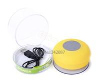 High Quality Mini Portable Wireless Bluetooth Speaker Waterproof Mashroom Handsfree Mic Suction Speaker Shower B003 CB023355