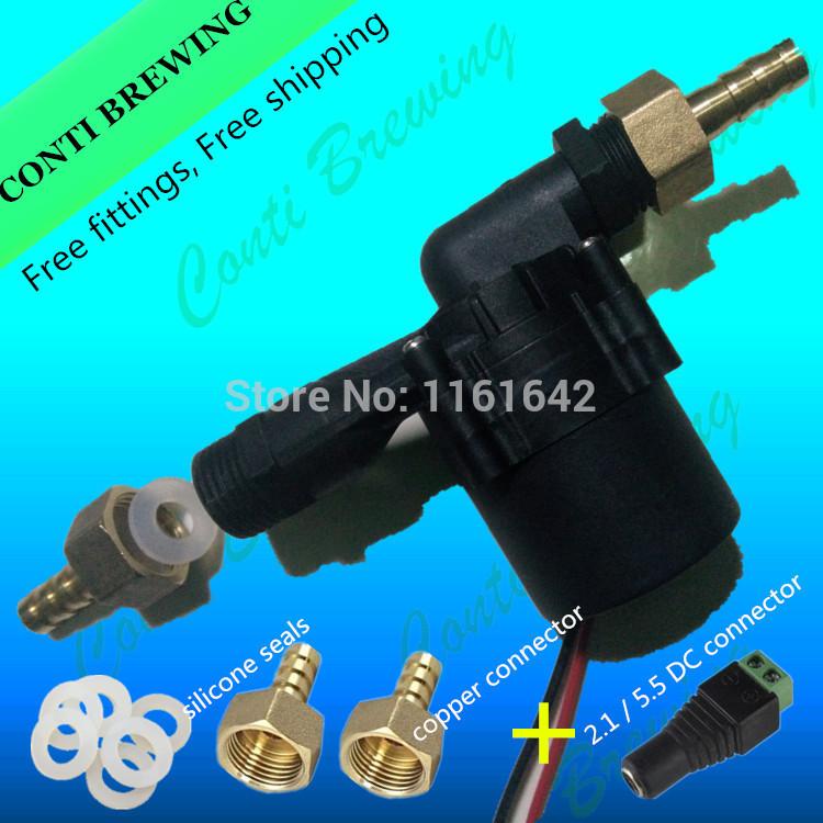 Food grade hot water brew pump and circulation brewing pump DC12V&15W(China (Mainland))