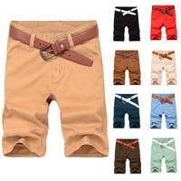 Men Shorts Jeans Boy Bermuda Masculina 9 Colour Oxford Cotton Size 28-38 Beach Shorts Black Blue Khaki Brown