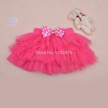 New 2014 Saia Girl's Fashion Baby Tutu Skirt 5Color Petti Tutu Short Skirt Fantasia Infantil Fluffy Skirt For Baby Girl(China (Mainland))