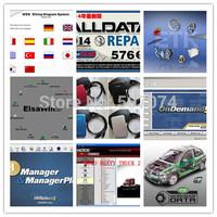 45in1 Newest alldata auto repair software 2014 v10.53+Mitchell on demand 2014+vivid workshop+elsa+ekta+mitchell manager 1tb hdd