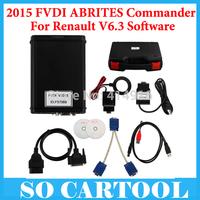 2015 FVDI Renault ABRITES Commander For Renault V6.3 Software USB Dongle With Hyundai/Kia/Tag Key Tool Software Free