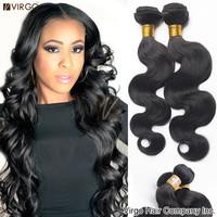Brazilian Virgin Hair Extension Brazilian Body Wave Cheap Human Hair Weave 4pcs lot Cheap Virgo Hair Brazilian Hair Bundles Wavy