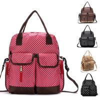Drop shipping diaper backpack baby bags for mom nappy changing bag nappy handbags Maternity bag bolsa maternidade mummy bag