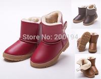 New Autumn Winter Warm Children Snow Boot Knee-High Thicken Boys And Girls Cotton Boots Fashion Keep Warm Kids Shoes