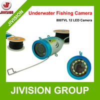 2014 New 800TVL 12pcs White bright light IR LED Underwater Video Fishing Camera 15M Cable visual fishing camera fishing finder