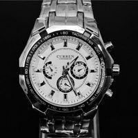 Curren Brand Men Quartz Watches 2014  Relogio Masculino Full Steel Watch Casual Sports military Watches Fashion Wristwatches