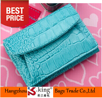 Name Brand Genuine Leather Cowhide Lady Short Women Wallet Hasp Small Couro Crocodile Wallet Designer Women Money Clip Carteras(China (Mainland))