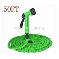 50FT Garden Hose with gun WATER GARDEN Pipe