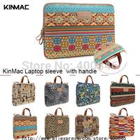 Kinmac bohemia laptop sleeve  10 11.6 12 13 13.3 14 15 15.6 netbook handle sleeve case notebook smart cover for Lady Girl