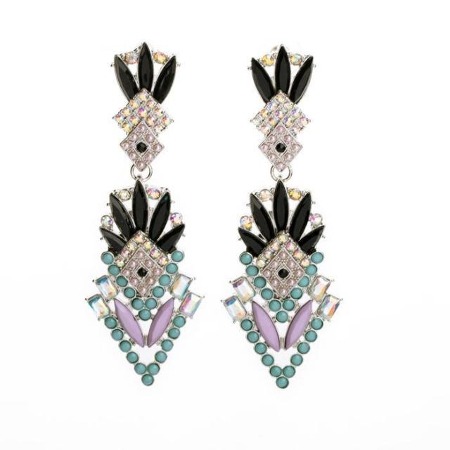 marca lampadari orecchino di perla per le donne di fascino monili ...