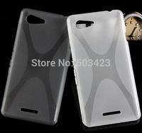 For Xperia E3 X Design TPU Case,New X Line soft TPU Gel Skin Cover Case For Sony Xperia E3