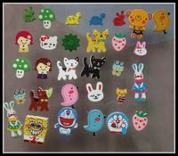 Nursery Kids Diy wooden buttons bulk wood button mixed for crafts 100pcs/lot multi kinds