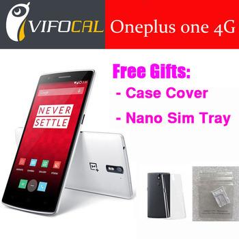 Оригинальный смартфон ONEPLUS ONE четырехъядерных процессоров смартфон 2 г / 3 г / 4GLTE зев 801 2.5 ГГц 5.5 дюймов горилла стекло FHD 3 ГБ 64 ГБ GPS 13.0MP телефон
