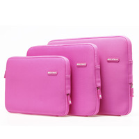 "Wholesales Laptop Bag Free Shipping 3 Colors Notebook  Case Cover Shell For Apple Macbook Pro Air 11"" 13"" 15"""