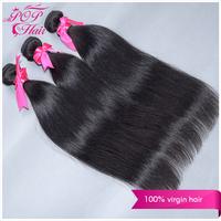 Ali POP Brazilian virgin hair straight 3pcs/lot  8-30 inch Brazilian hair extension 6Ahuman hair cheap hair weave free shipping