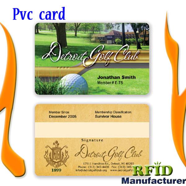 NFC smart card manufacturer produce blank PVC card printing(China (Mainland))