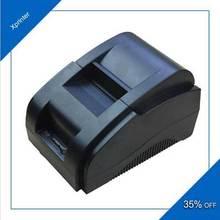 Free Shipping  100% New original High Speed USB Port 58mm Thermal Receipt Pirnter POS printer Low Noise Mini laser Printer(China (Mainland))