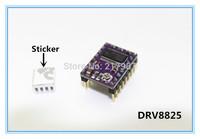 3d printer parts 5pcs/lot 3D Printer Stepstick Drv8825 Stepper Motor Driver Reprap 4 PCB Board + Free shipping replace A4988
