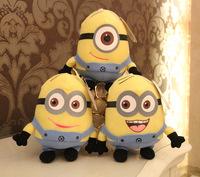 Hot Sale 3pcs/set kawayi Despicable me plush minion pelucia toys doll Unicorn Minions Toy 3D eye juguet minion