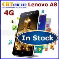"Original Lenovo A806 A8 A808t 4G FDD WCDMA MTK6592 Octa Core Mobile Phone 1.7GHz 5.0"" IPS 13.0MP 2GB RAM 16GB ROM Black White"