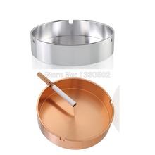 Mini Round Shape Cigarette Ashtray Cinzeiro Cendrier Smoking Holder Lighters and Smoking Accessories(China (Mainland))