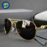 Oculos De Sol Masculinos 2015 Polaroid Mercedes Aviator Sunglasses Men Polarized Original Gold Sun Glasses For Man Gafas Mujer