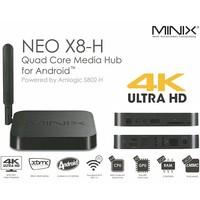 MINIX NEO X8-H X8 -H X8H Android TV Box Quad Core Amlogic S802-H 2GB 16GB 4K Android Kitkat 4.4 Smart TV Box XBMC Mini PC+M1