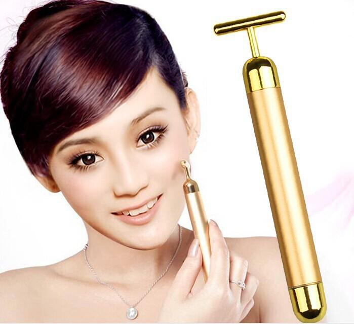 Face Massager Facial Roller Serum Massage Derma Skincare Wrinkle Treatment Energy Beauty Bar Care Massage MFA-03(China (Mainland))
