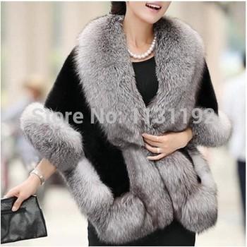 2014 осень и зима теплая новый чернобурки меховой жилет жилет верхняя одежда женская мода мех пальто Большой размер