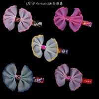 One Piece Bowknot Baby Girl Kid Children Hair Pin Clips Slides Women Gift Hair Jewelry Free Shipping