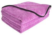 "3-Pack 16""x24"" 40cmX60cm 380gsm Plush thick microfiber car cleaning cloths car detailing towels car care wax polishing cloth"