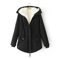 Women winter coats 2015 new explosion models  Stylish simplicity Wild Warm Cotton jacket