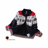 New Children Clothing  European Style Autumn Winter Boys Thick Warm Sweater Coat