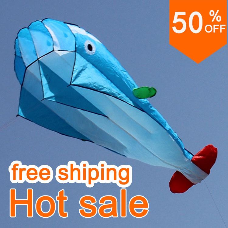 Dolphin kite - weifang kite inflatable kite(China (Mainland))